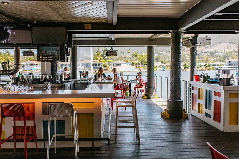 Waterfront Bar and Dining in San Diego
